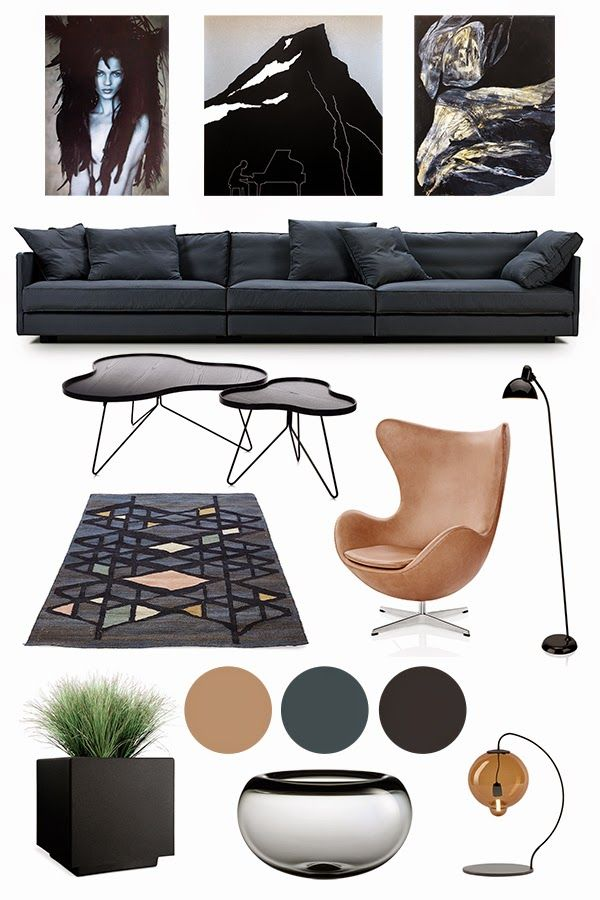 Anette Willemine Moodboard Interior Trends 2015