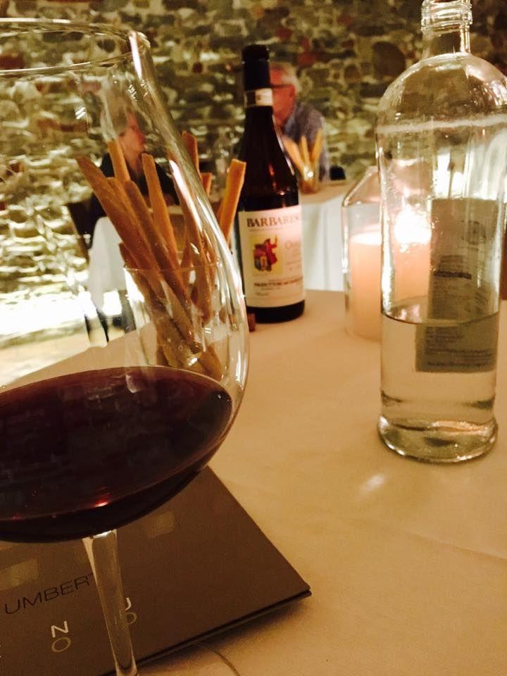 Dinner at Enoclub in Alba Italy
