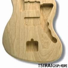 Hand made knotty custom Broadcaster style guitar body.Made from blue stain pine with a 'racing stripe' style runner made from port orford cedar flanked by thin mahogany accent edges. The choice of port orford cedar for the runner was made for not only looks but weight relief and structural integr...