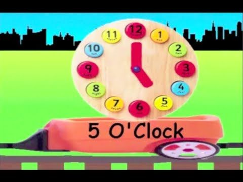 Learn Clock Train 1 - learning to tell time for kids