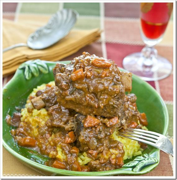 Osso Buco Style Braised Short Ribs   Sticky, Gooey, Creamy, Chewy   A Blog About Food with a Little Life Stirred In