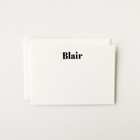 Blair - Personalized Stationery Set