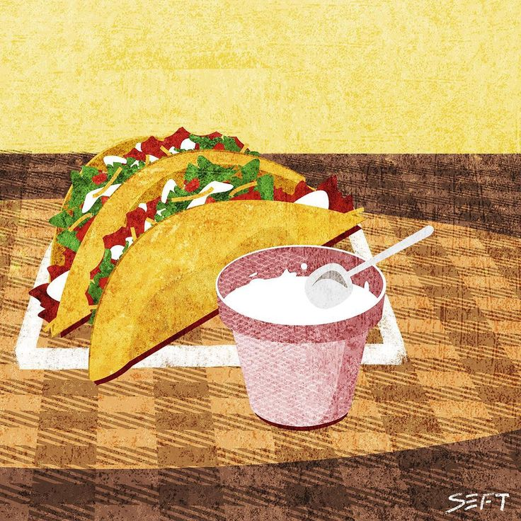 @seft_0428  taco painting