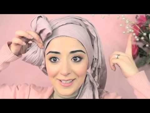 Hijab Tutorial Pretty Bow Turban   From My Ariana Grande Makeup Tutorial