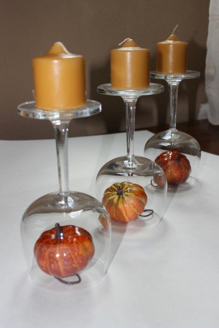 Herbstdeko Ideen – farbenfrohe Tischdeko und andere Bastelideen