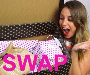 Les vidéos SWAP sont proposées par les youtubeuses beauté. Il s'agit de s'échanger des cadeaux entre youtubeuses pour un montant donné.