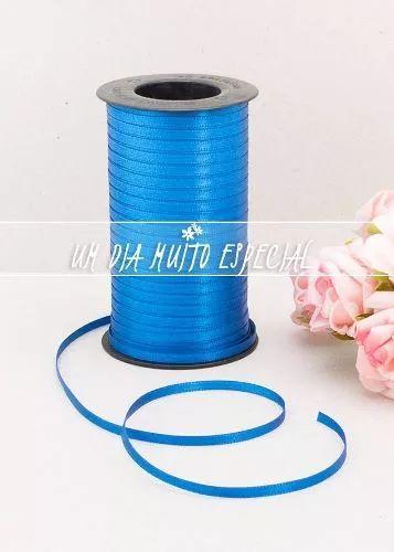 fita cetim azul anil dupla face 4mm 100m casado frete grátis