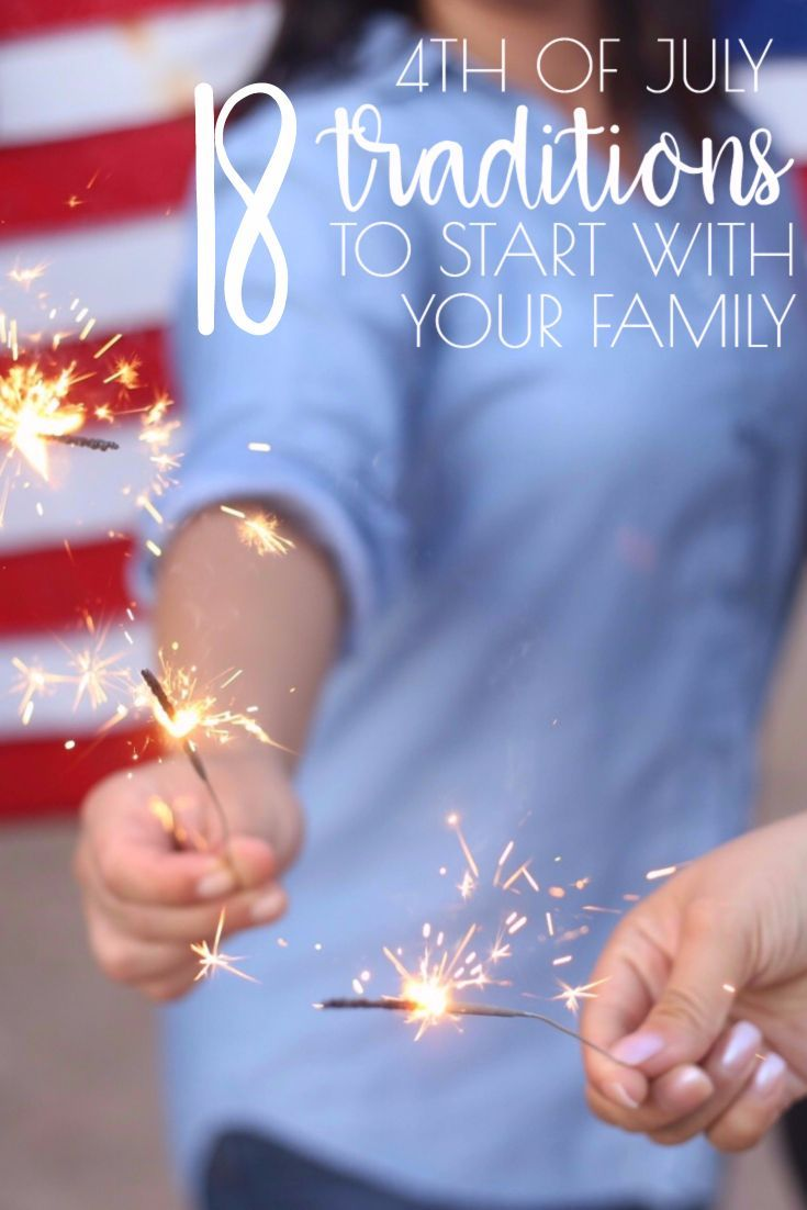 Celebrate our country's independence with these fun 4th of July Traditions to Start With Your Family This Year. From traditional activities to outside-the-box fun, you'll find something you all love!