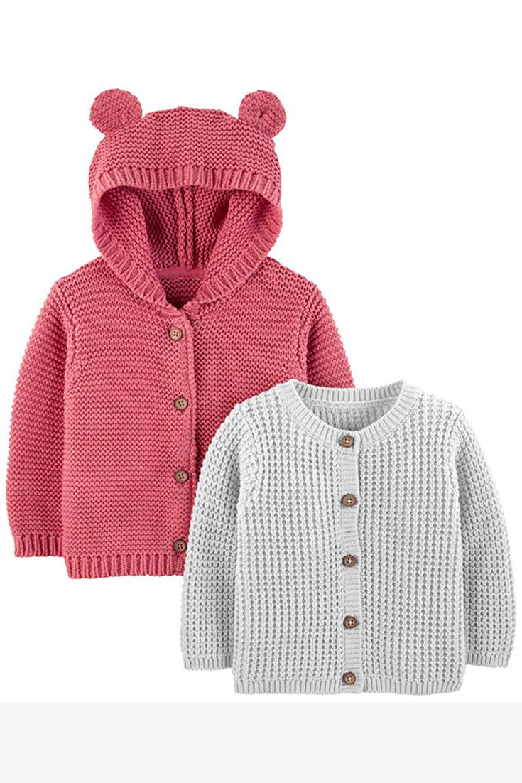 Carters Baby-Girls 2-Pack 3-Piece Cardigan Set Cardigan Sweater