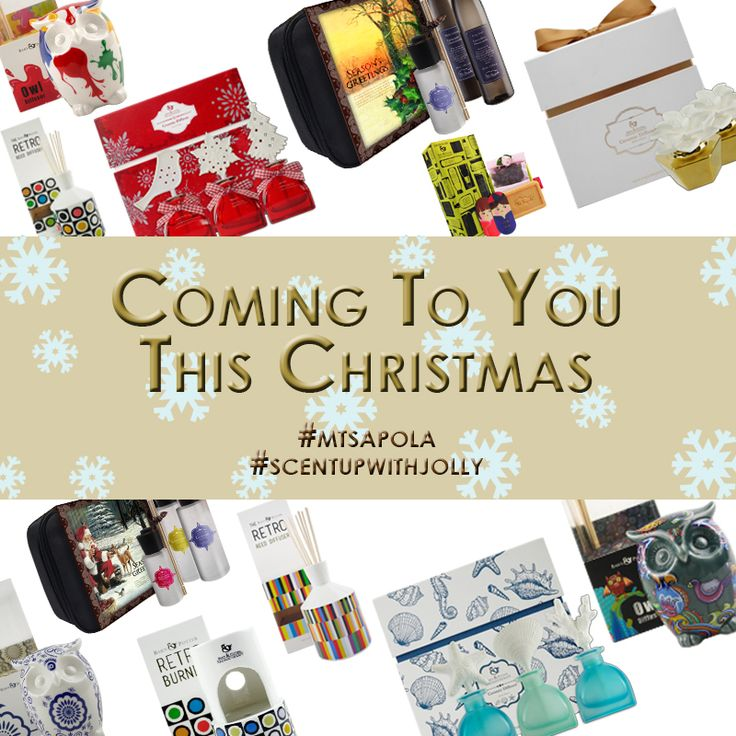 Coming your way this Christmas!  Look out for these amazing gift sets at all Mt. Sapola Boutiques:)  #mtsapola #scentupwithjolly