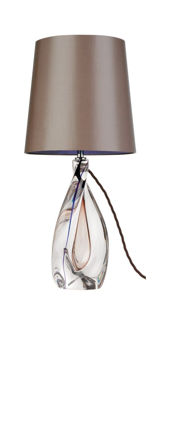 Modern glass table lamps - Instyle Decor Com Glass Table Lamps Glass Bedroom Table Lamps Modern Glass
