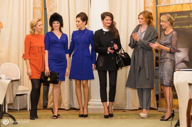 Pokaz marki #Aryton podczas spotkania Lady Business Club w Sopocie