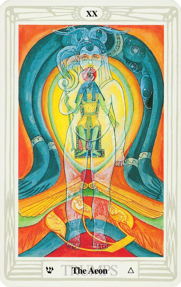 24 Best Thoth Tarot (Major Arcana) Images On Pinterest