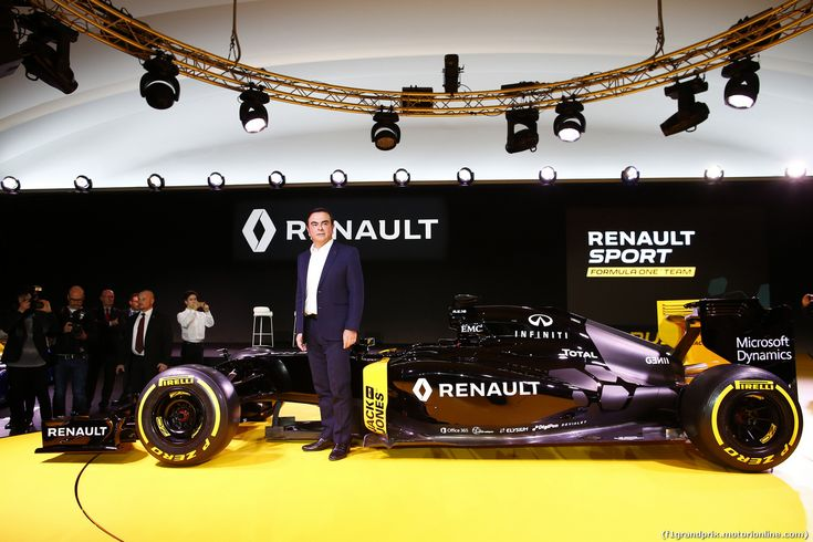 RENAULT F1 PRESENTAZIONE 2016, Carlos Ghosn (FRA) Chairman of Renault. 03.02.2016.