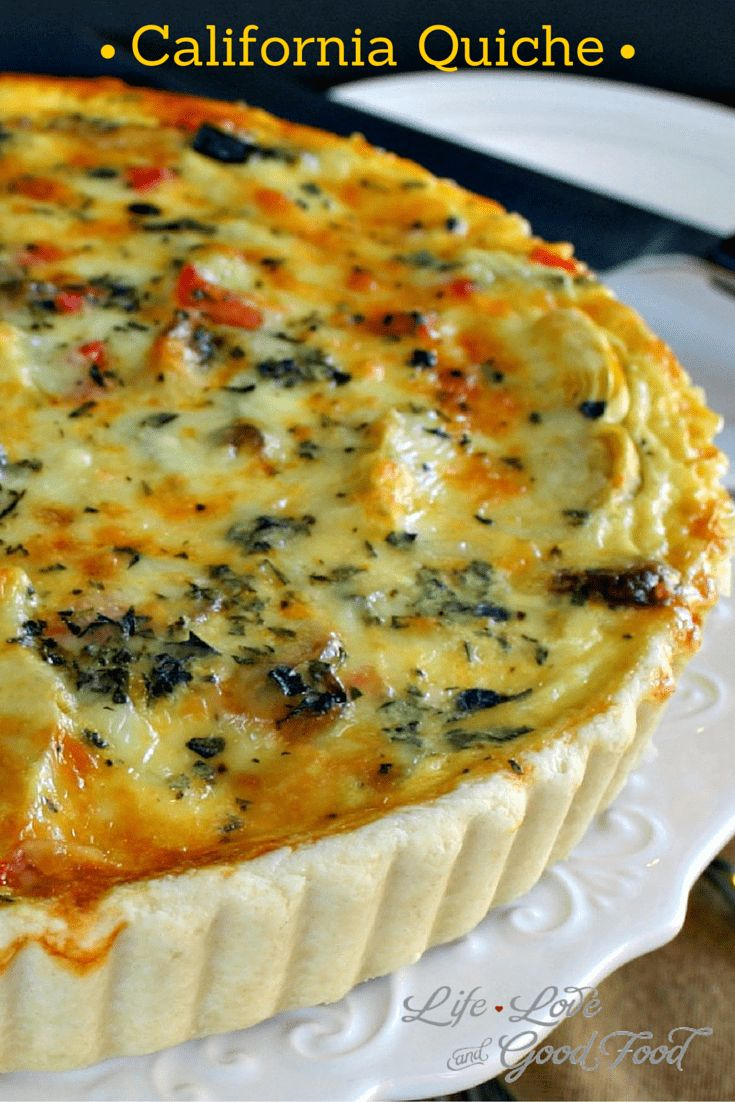 10 best images about quiche on pinterest bacon quiche mushroom california quiche life love and good food forumfinder Image collections