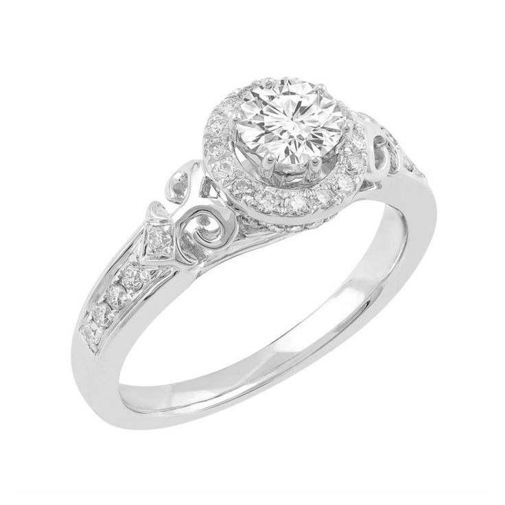 Love by Michelle Beville 18ct White Gold 3/4ct of Diamond Solitaire Ring. Available in stores or online - 9B53000