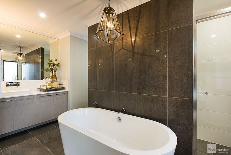 Award-winning ensuite in the Milan by Stylemaster Homes. Winner - Brisbane's Best Bathroom Under $20,000 (HIA 2014 Housing Awards)
