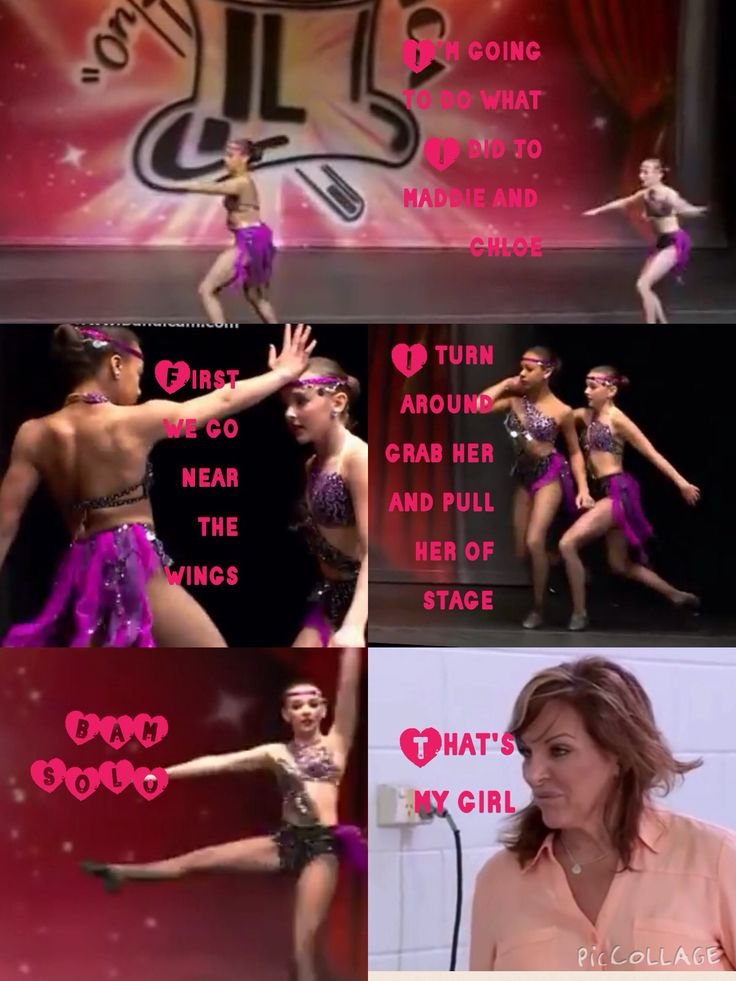 Dance moms comics made by @Macey