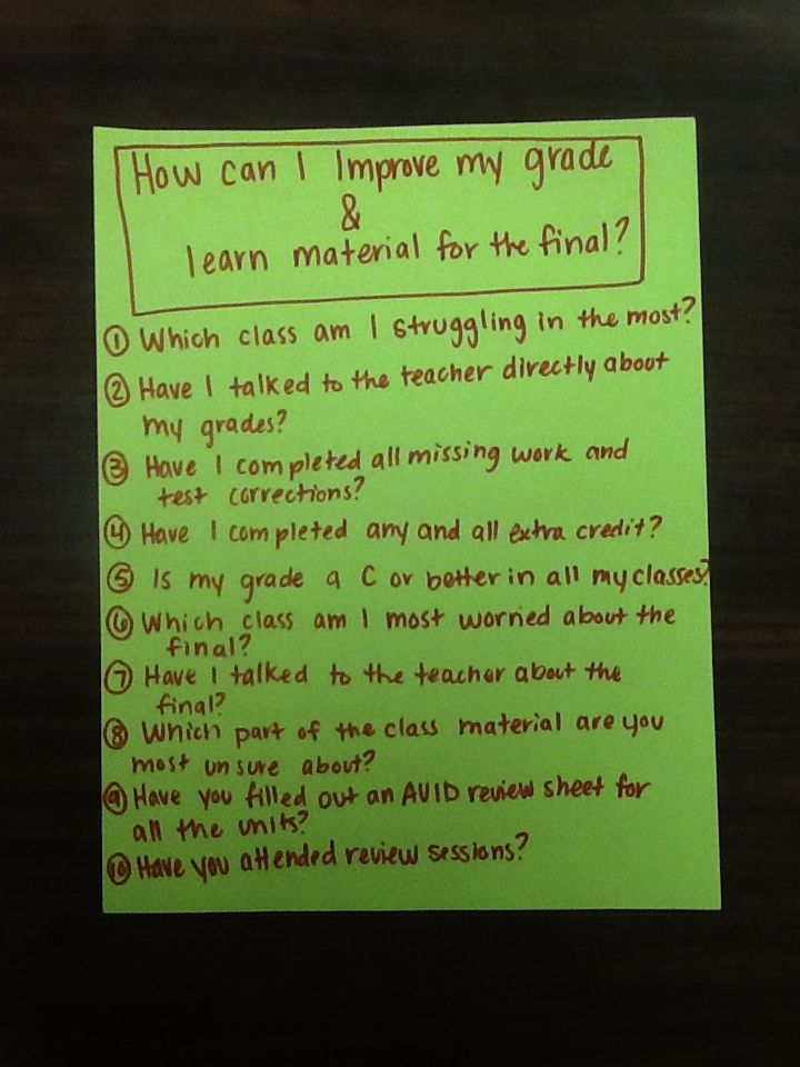 35 Days to Better Grades: A High School Study Skills Course
