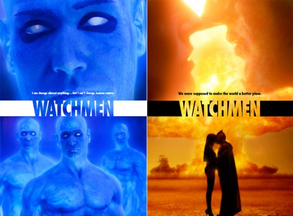 Novos Posters de Watchmen (2009) divulgados atualmente #movie #design #poster