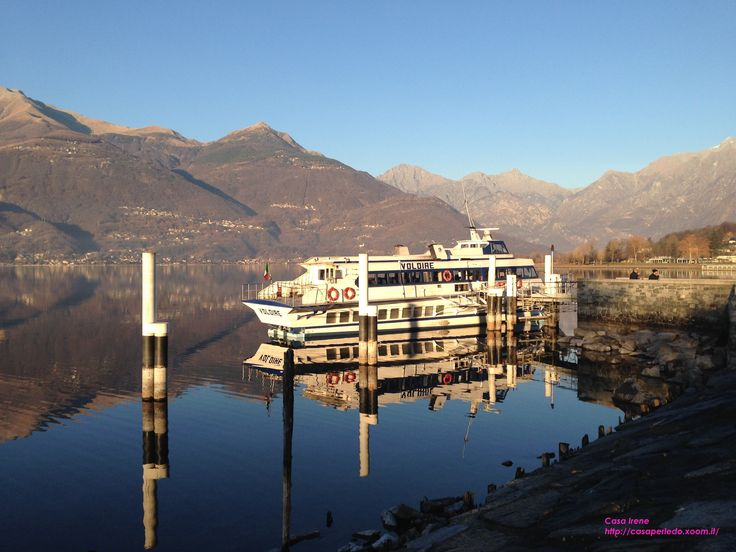 Lake Como seen from Colico (Lc) in winter. by Casa Irene http://casaperledo.xoom.it/