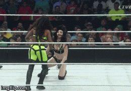 Trinity Fatu AKA Naomi Knight Slaying on Main Event this week