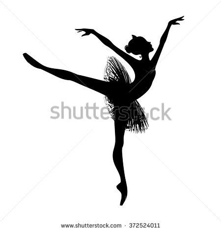 how to draw a ballet dancer easy