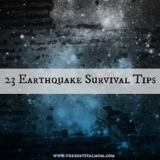 Got the earthquake jitters? This list of 23 tips will help you prepare and survive - Survival Mom