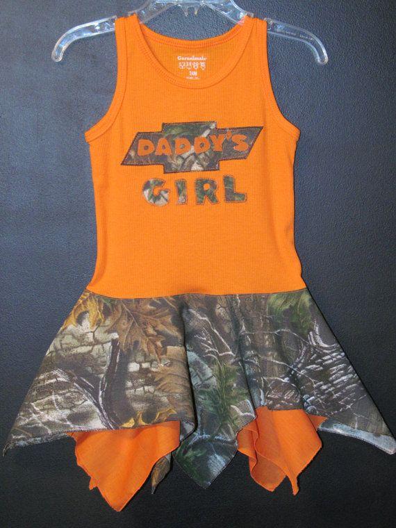 Camo Heart Deer Daddy's Chevy Country Girl by BowlinsBandanaCuties, $20.00