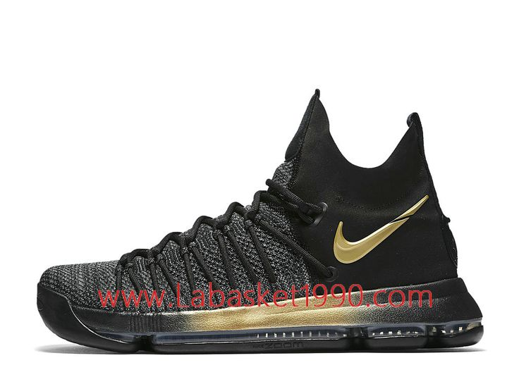 Nike KD 9 Elite Flip the Switch 878637_007 Chaussures Nike Prix Pas Cher  Pour Homme Noir