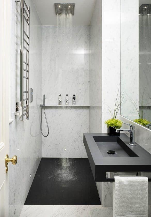 50 Best Small Bathroom Ideas Bathroom Designs For Small Spaces Ensuite Bathroom Designs Small Bathroom Bathroom Design Small Best bathroom design ideas small