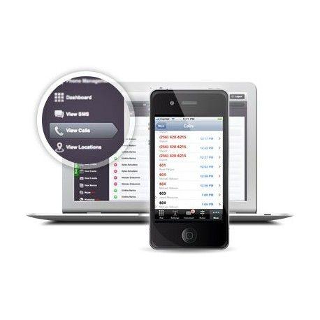 Overvåk en mobiltelefon enkelt og greit. Informasjon sendes skjult fra telefonen til en webside som du får tilgang til.