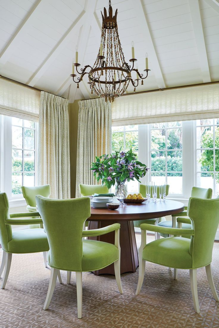 This New Palm Beach House Is Bursting With Old Florida Charm Interior Dining Decor Home Decor