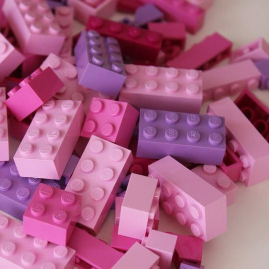 pastel lego Pinned by ZenSocialKarma