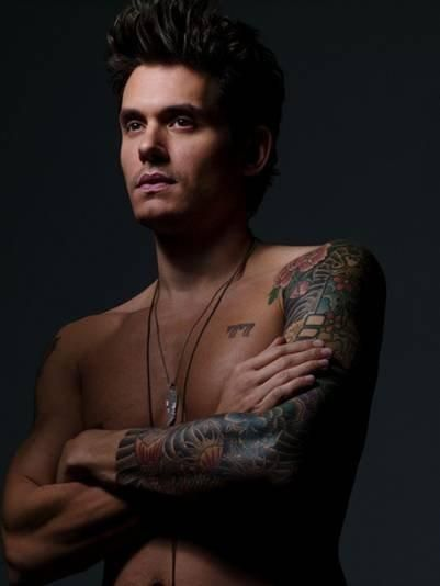 SOMETIMES WHEN WARREN IS STANDING THERE I CAN NOTICE HIS TONE FIGURE THROUGH HIS BUTTON DOWN SHIRTS. HE IS EXQUISIT TO SEE WITH HIS SHIRT ON. OFF WOULD BE TOO HARD TO HANDLE, SO I LOOK AWAY BEFORE MY IMAGINATION REVEALLS WHAT I JUST REALIZED. John Mayer