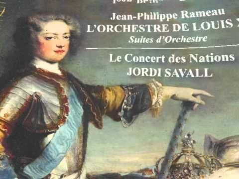 Les Indes galantes (J.P. Rameau) -  Ensemble Le Concert des Nations, Jordi Savall
