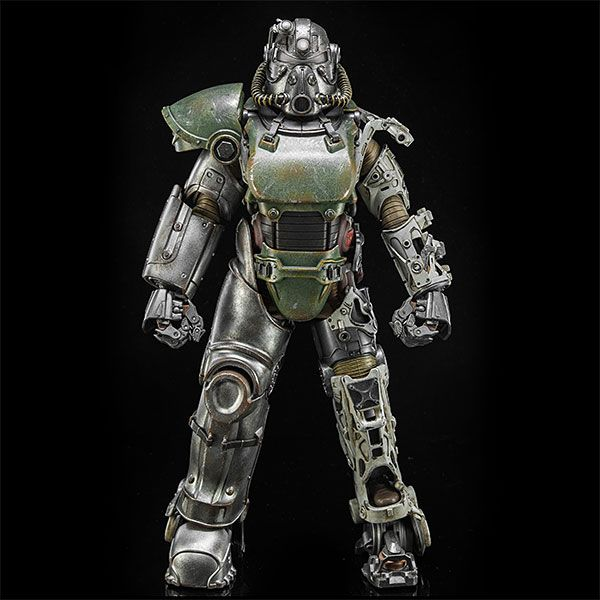 Be the envy of the entire Commonwealth with this ThinkGeek exclusive. From ThreeZero, this figure with over 35 points of articulation is just like their T-45 and T-60 Power Armor Figures, except, well, it's the T-51, so it's superior.