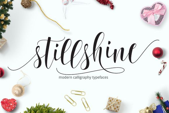 Still Shine Script / by joelmaker on Creative Market #script #calligraphy
