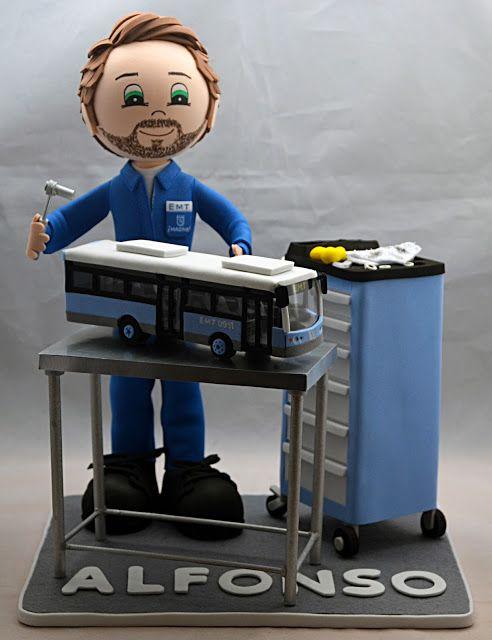 Fofumecanico De Autobuses Personalizado!!!