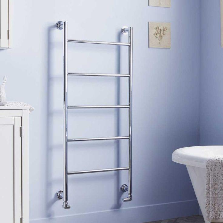 Heatwave Ballymore Designer Heated Towel Rail 1200mm H X 560mm W   C