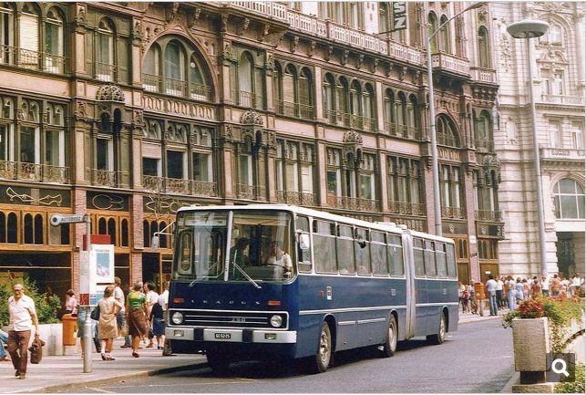 7-es busz a Párizsi udvarnál