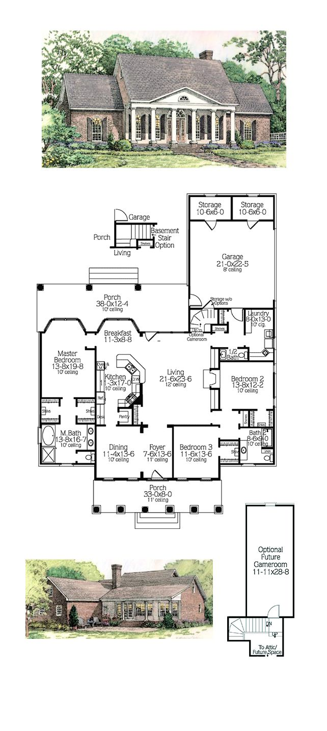 52 best colonial house plans images on pinterest colonial house
