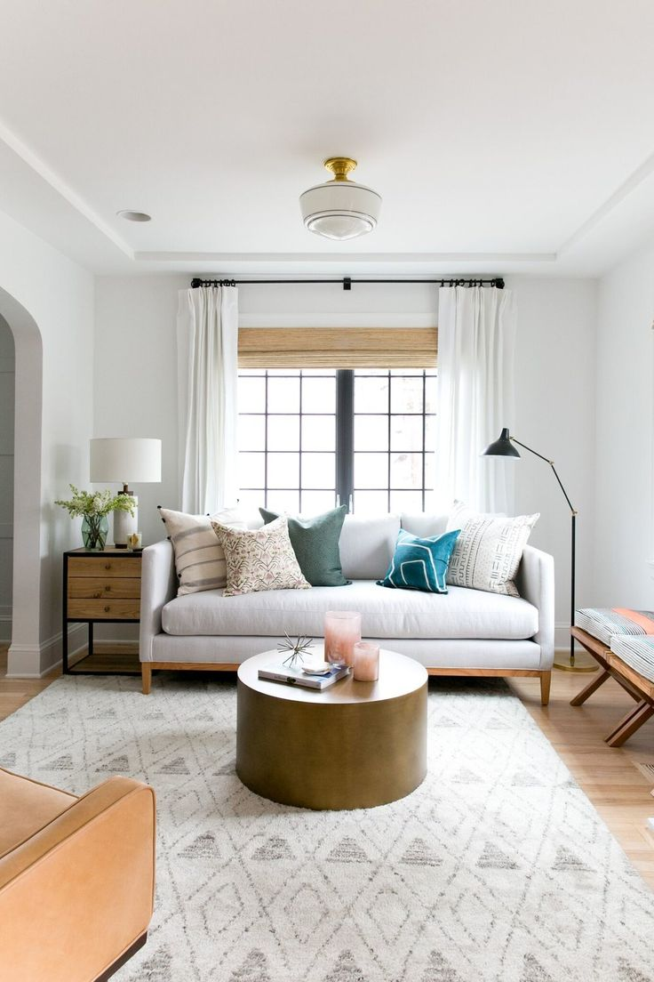 Bright, Eclectic Living Room With Black Windows In Benjamin Mooreu0027s Black  Iron, And A Part 56