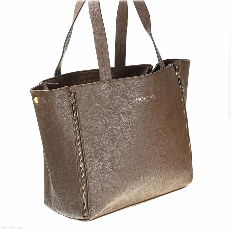 Morgan De Toi - Illusion 2 Tote (Taupe Handbag)