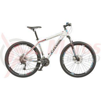 "Bicicleta Cross Grx 8 27.5"" alb/albastru/rosu 2015"
