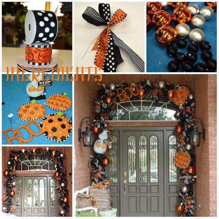 halloween diy decorating halloween decorating - Deco Mesh Halloween Garland