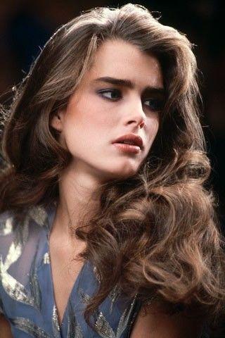 Brooke Shields 1980's hair / style.