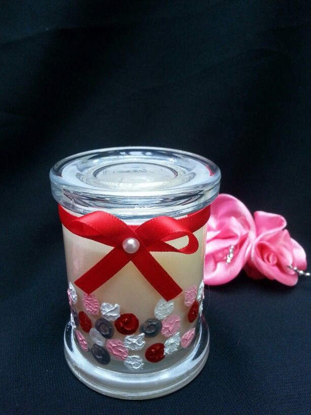 Hand Painted ECOYA candle