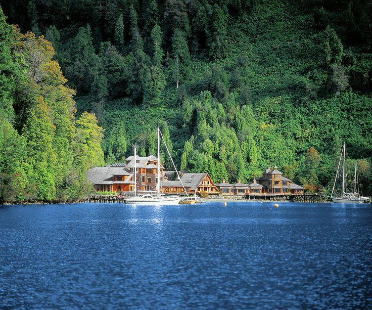 Puyuhuapi Lodge & Spa, 215 kilómetros al norte de Coyhaique