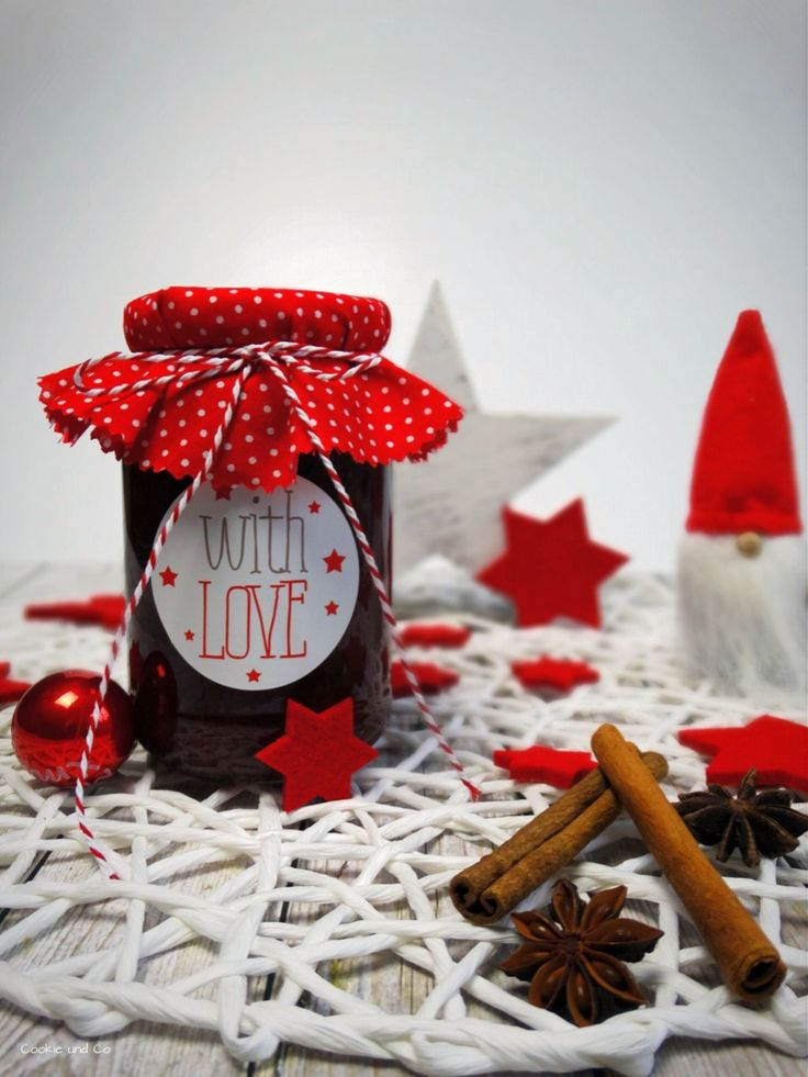 Glühwein-Kirschmarmelade, Marmelade selber kochen, Konfitüre, Weihnachtsmarmelade, Weihnachtskonfitüre, Kirschen, Glühwein, mulled wine, cherry, Christmas, Thermomix, Thermomixrezepte
